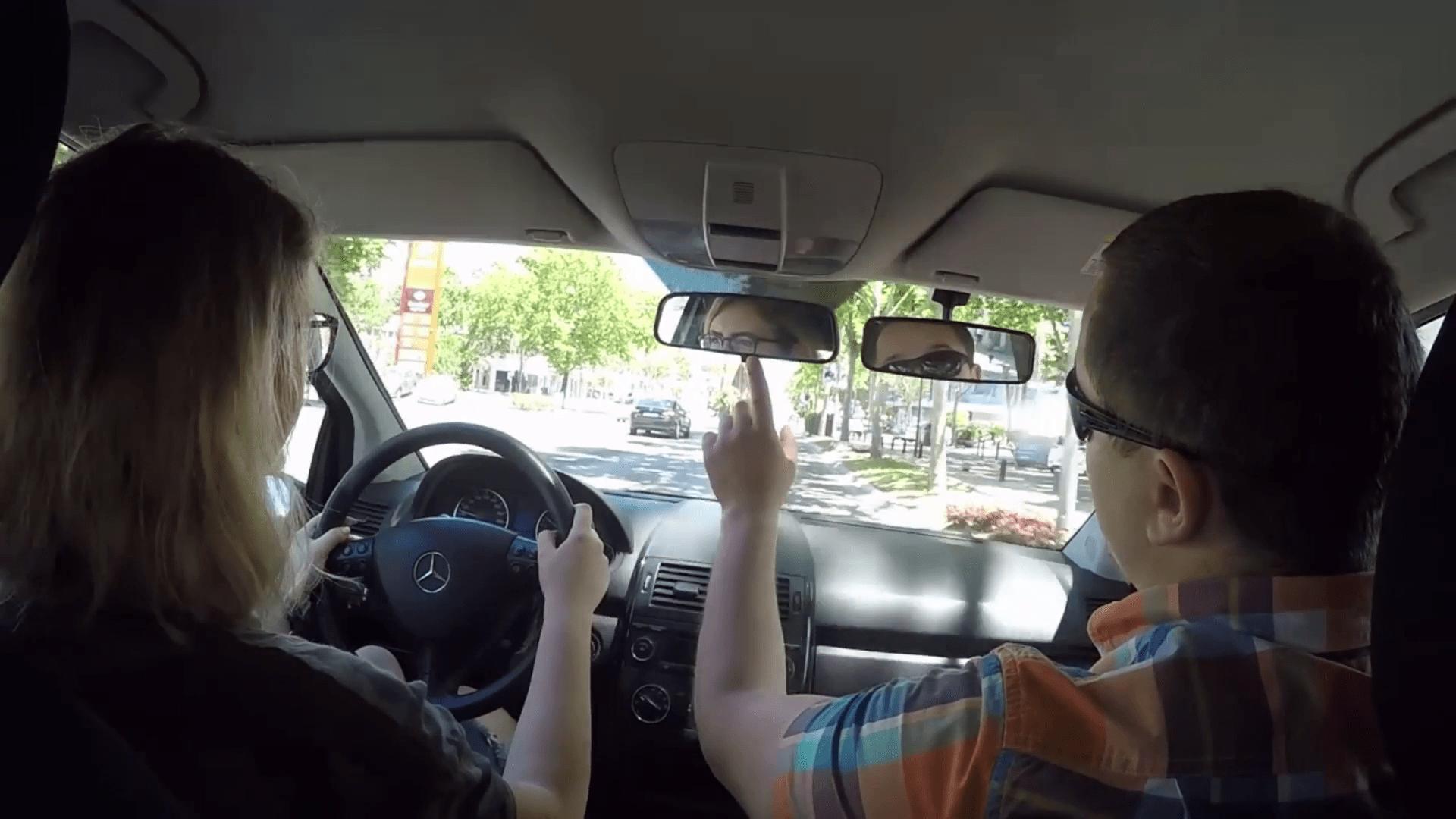 Урок вождения в Испании